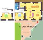apartment house Antommè map